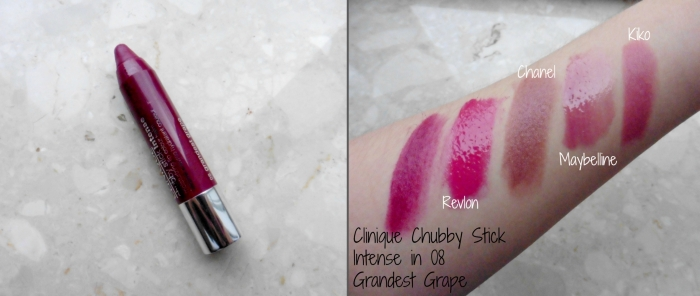 Clinique Chubby Stick Intense in 08 Grandest Grape