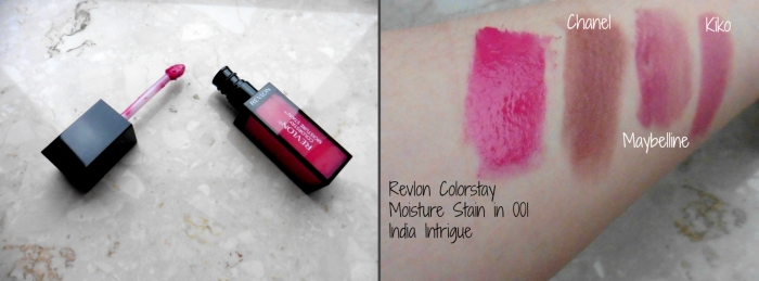 Revlon Colorstay Moisture Stain in 001 India Intrigue